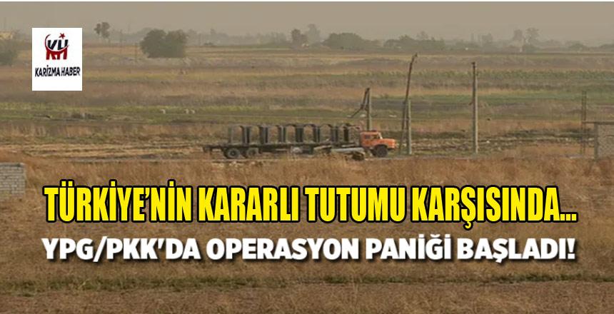 YPG/PKK'da operasyon paniği başladı!