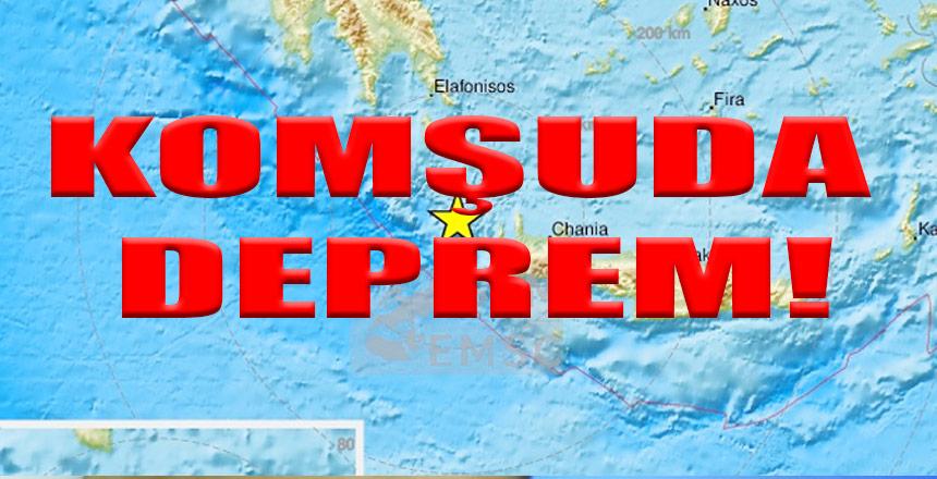 Son dakika: Yunanistan'da 6 şiddetinde deprem