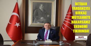 """CHP'li Kemal Zeybek """"AK PARTİ DEMEK BİTMEYEN MAĞDURİYET DEMEK"""""""""""