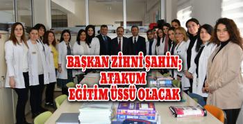 Başkan Zihni Şahin'den eğitim kurumlarına ziyaret