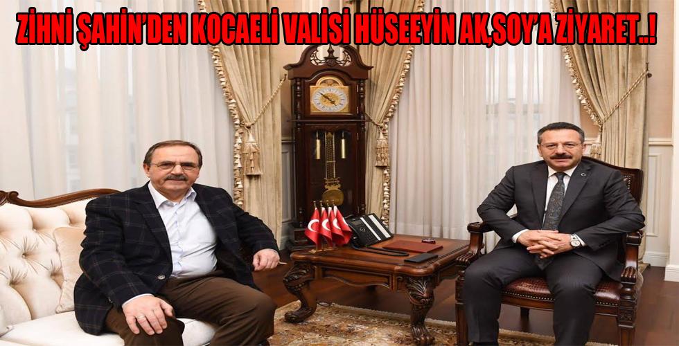 Başkan Şahin'den Vali Aksoy'a ziyaret 'Samsun'un sevdalısıyız'