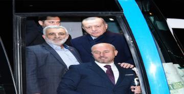 Tekkeköy, Cumhurbaşkanı'na olan Sevgisini Bir kez Daha Gösterdi