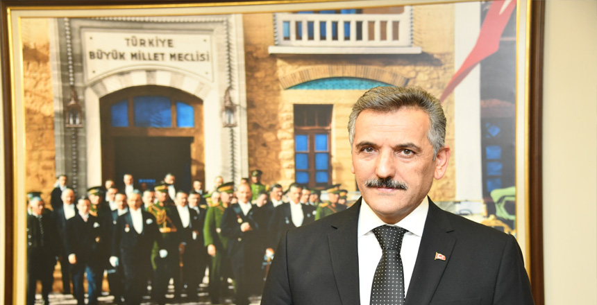VALİ OSMAN KAYMAK'IN'14 MART TIP BAYRAMI'KUTLAMA MESAJI