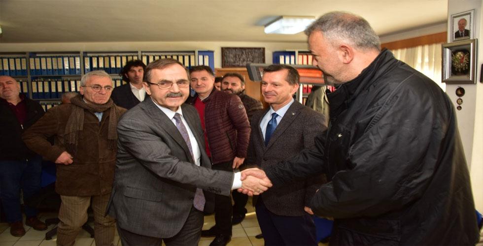 'ÖNEMLİ OLAN SAMSUN'A HİZMETTİR!..'